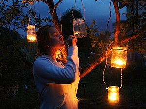 Светлячки в Банках | Ярмарка Мастеров - ручная работа, handmade