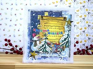Скидка на новогодние открытки! | Ярмарка Мастеров - ручная работа, handmade