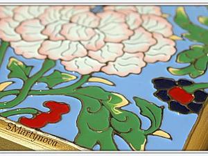 Имитация перегородчатой эмали. Авторская техника Светланы Мартыновой. | Ярмарка Мастеров - ручная работа, handmade
