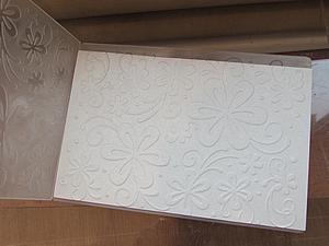 Тиснение бумаги без особых затрат. Ярмарка Мастеров - ручная работа, handmade.