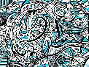Новые просторы для творчества — роспись в стиле зентангл. Ярмарка Мастеров - ручная работа, handmade.