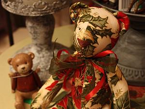 Новогодний Мишка Тильда! | Ярмарка Мастеров - ручная работа, handmade