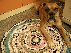 Бабулькин коврик | Ярмарка Мастеров - ручная работа, handmade