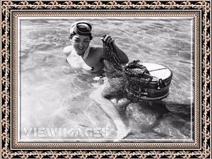 Ама- японские ныряльщицы за жемчугом | Ярмарка Мастеров - ручная работа, handmade