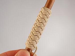 Плетение декоративного узла