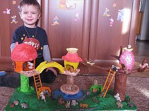 Сказочный лес Папье-Маше. Ярмарка Мастеров - ручная работа, handmade.