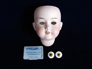 Как поставить глаза кукле. Ярмарка Мастеров - ручная работа, handmade.