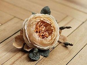 Цветы из шёлка. Мастер-класс Кузнецовой Инны. | Ярмарка Мастеров - ручная работа, handmade