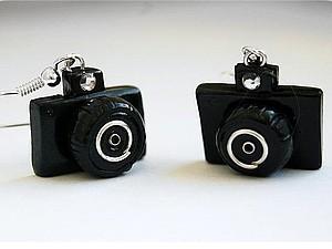 Фотоаппарат из полимерной глины: мастер-класс   Ярмарка Мастеров - ручная работа, handmade