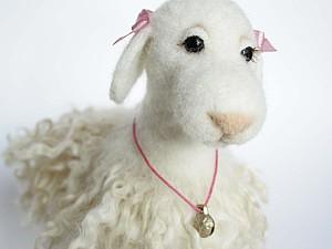 Мастер класс по валянию овечки. Ярмарка Мастеров - ручная работа, handmade.
