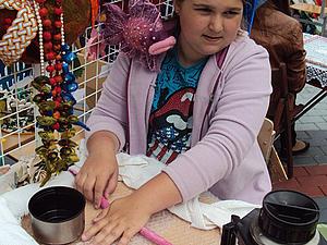 Тёплые бусы, Новогодний МК для детей и взрослых | Ярмарка Мастеров - ручная работа, handmade