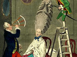 Удивительные подробности женских причесок 18 века. Ярмарка Мастеров - ручная работа, handmade.