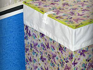 Ящик для белья из картона и бумажных салфеток | Ярмарка Мастеров - ручная работа, handmade