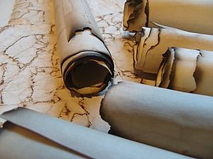 Состаривание бумаги для свитков! | Ярмарка Мастеров - ручная работа, handmade