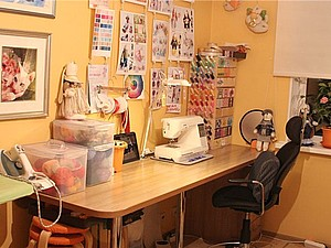 Мой рабочий кабинет. Здесь рождаются игрушки. Ярмарка Мастеров - ручная работа, handmade.