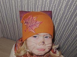 """Шьем шапку """"Рыжий котик"""" из маминого свитера и старых сапог. Ярмарка Мастеров - ручная работа, handmade."""