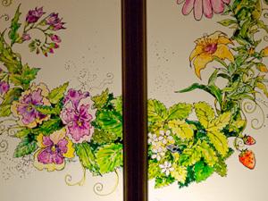 Создаем витражную роспись двери в дачном доме. Ярмарка Мастеров - ручная работа, handmade.