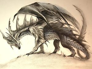 Как нарисовать дракона. Ярмарка Мастеров - ручная работа, handmade.