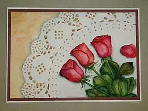 Акварельные открытки | Ярмарка Мастеров - ручная работа, handmade