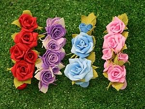 Цветы из фоамирана своими руками с фото