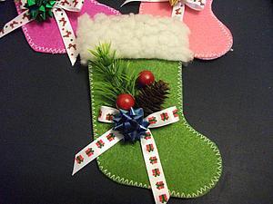 Как просто сделать сапожки для новогодних сувениров. Ярмарка Мастеров - ручная работа, handmade.