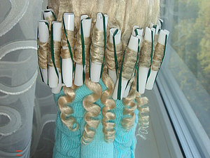 Как просто сделать прическу кукле. Ярмарка Мастеров - ручная работа, handmade.