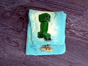 Эксперимент с раскрашенной сумочкой | Ярмарка Мастеров - ручная работа, handmade