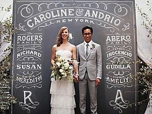 Как расписать меловую доску для свадебной фотосессии: тонкости и хитрости. Ярмарка Мастеров - ручная работа, handmade.