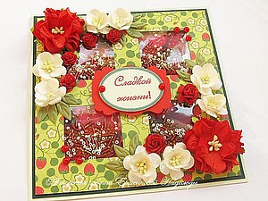 Скидка на готовые женские цветочные открытки | Ярмарка Мастеров - ручная работа, handmade