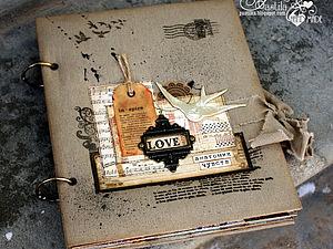 Мужской альбом + лекция о стиле «ГРАНДЖ» от Ольги Pastila   Ярмарка Мастеров - ручная работа, handmade