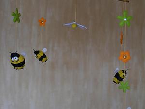 Мобиль на детскую кроватку своими руками | Ярмарка Мастеров - ручная работа, handmade