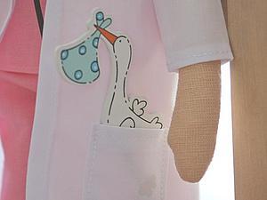 Ангел-доктор в стиле Тильда | Ярмарка Мастеров - ручная работа, handmade