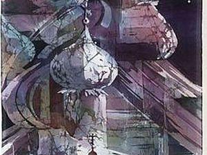 Шелковая живопись Алены Косульниковой. Ярмарка Мастеров - ручная работа, handmade.