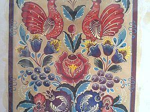 Ускоренный курс росписи по дереву | Ярмарка Мастеров - ручная работа, handmade