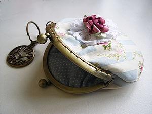Мастер-класс по пошиву кошелька на фермуаре. | Ярмарка Мастеров - ручная работа, handmade