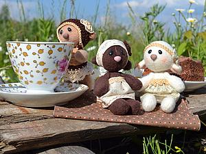 Чаепитие с Медвежатами или история одной съёмки) | Ярмарка Мастеров - ручная работа, handmade