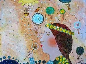 Белорусская художница Анна Силивончик | Ярмарка Мастеров - ручная работа, handmade