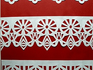 Занавески из бумаги | Ярмарка Мастеров - ручная работа, handmade