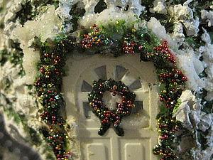 "Шар ""Хозяйство Деда Мороза"". Ярмарка Мастеров - ручная работа, handmade."