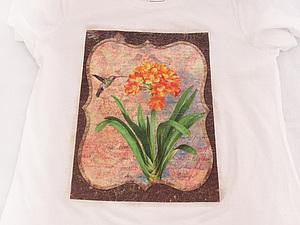 Декупаж на текстиле – это так легко!. Ярмарка Мастеров - ручная работа, handmade.