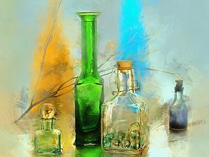 Кто о чём, а стекольщик о стекле: прекрасные работы художников   Ярмарка Мастеров - ручная работа, handmade