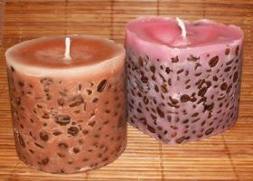 Свеча к дню святого Валентина своими руками. Ярмарка Мастеров - ручная работа, handmade.
