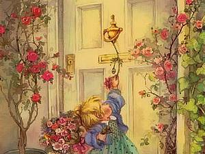 Картины волшебного детства Лизи Мартин | Ярмарка Мастеров - ручная работа, handmade