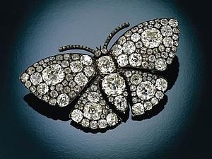 Старинные броши-бабочки | Ярмарка Мастеров - ручная работа, handmade