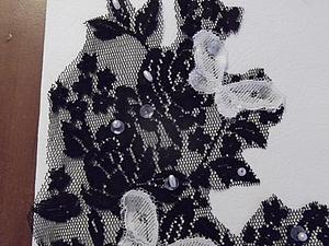Кружевная открытка. Ярмарка Мастеров - ручная работа, handmade.