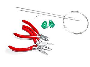 Сборка украшений &#8212&#x3B; серьги с овальными колечками. Ярмарка Мастеров - ручная работа, handmade.
