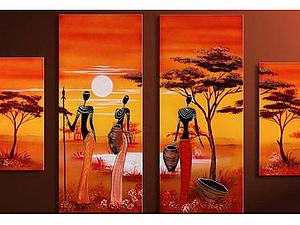 Африканская тематика--выбираем картину! | Ярмарка Мастеров - ручная работа, handmade