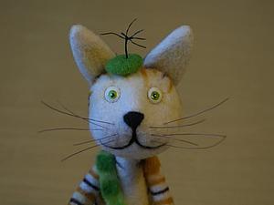 Как сделать котенка Финдуса. Ярмарка Мастеров - ручная работа, handmade.
