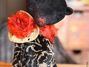 Конфета с очаровательным мишкой | Ярмарка Мастеров - ручная работа, handmade