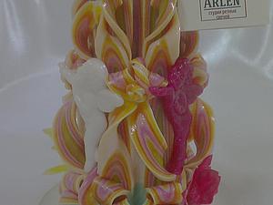 Мастер-класс по изготовлению резных свечей ручной работы   Ярмарка Мастеров - ручная работа, handmade